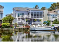 62 S. Anchorage Ave South Bethany Beach DE - This waterfront oasis is the epitome of a beach house. Currently for sale within walking distance to the beaches of Bethany Beach DE