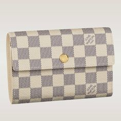 11c3b950c23e8 (Height Depth) 3.9 X 5.9 inches - Coated Damier canvas