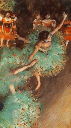 bailarina de Degas