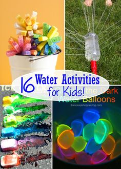 My kids absolutely love playing with any kind of water. There are so many great outdoor water activities here that we'll definitely do this summer!