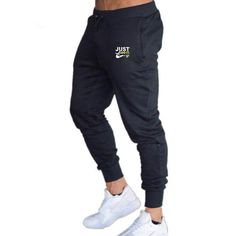 Brand Print Gyms Men Joggers Casual Men Sweatpants Joggers Homme Trousers Sporting Clothing Bodybuilding Pants – Men's style, accessories, mens fashion trends 2020 Jogging, Fashion Joggers, Joggers Outfit, Mens Sweatpants, Running Pants, Slim Fit Pants, Skinny Pants, Jogger Pants, Gym Men