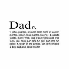 One day my kids will have the best father in the world. There is no doubt about that :)(Step Quotes Father) Father Daughter Quotes, Fathers Day Quotes, Happy Fathers Day, Being A Father Quotes, Happy Birthday Dad Poems, Fathers Day Captions, Father Qoutes, Dad Qoutes, Dad Sayings