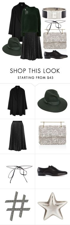 """""""Cozy Christmas Eve"""" by betterfuture ❤ liked on Polyvore featuring Agnona, Borsalino, Lela Rose, M2Malletier, Maiyet, Proenza Schouler, Lanvin, CO and Hermès"""