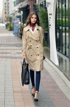 Muôn kiểu áo khoác măng tô nữ cho mùa đông   Shop thời trang đẹp +