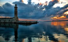 greece nature lighthouse ocean reflection landscape hd | Flickr - Photo Sharing!