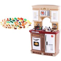 American plastic my very own kitchen and step2 play food set step2 lifestyle fresh accents kitchen and play food set 78 best price i could find teraionfo