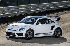 最高出力は553hp にアップ! VWが今年のラリークロス参戦用マシン「ビートル GRC」を公開 - Autoblog 日本版