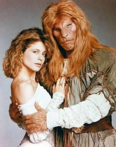 Beauty and the Beast (1987-1990) starring Ron Perlman and Linda Hamilton.