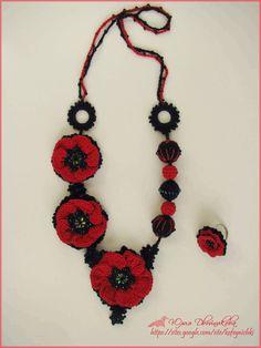 """""""Cozy minute"""": Crochet Beads """"Carmen"""""""