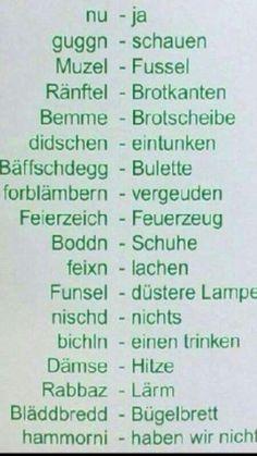 Sächsisch - Deutsch
