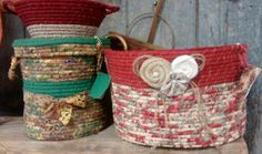 Coiled creations...coiled baskets....new at bowmansville store