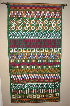 Seminole patchwork Multi by Susan Stover