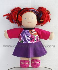 floral #courtneycourtney #eco #upcycled #recycled #repurposed #tshirt #vintage #dress #girls #unique #clothing #ooak #designer #upscale #bamboletta #dolls #doll #floral