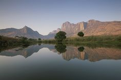 Madagascar: Beauty reflected.....Tsaratanana Mountain Range of the 4th largest island in the world..........