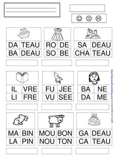 French Language Lessons, French Lessons, French Education, Kids Education, Teaching Tools, Teaching Kids, Bbc Schools, Maternelle Grande Section, Speech Therapy Games