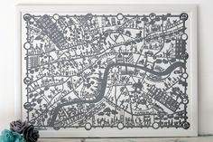 878+BODIE+and+FOU+London+map+print+grey+in+situ.jpg (1600×1066)