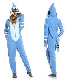 6c7fab62b6 Blue Jay Mordecai Footie Pajamas by Undergirl. Footie pajamas