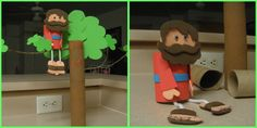 Doll for Bible Study - Zaccheaus Children's Church Crafts, Vbs Crafts, Crafts For Kids, Bible Study Crafts, Bible School Crafts, Sunday School Kids, Sunday School Crafts, Church Activities, Bible Activities