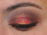 Red eyeshadow!