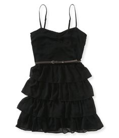 What to Wear on New Years Eve on the girl-karma blog - chiffon dress from aeropostale