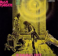 Iron Maiden Album Covers | File:Running Free (Iron Maiden album - cover art).jpg - Wikipedia, the ...