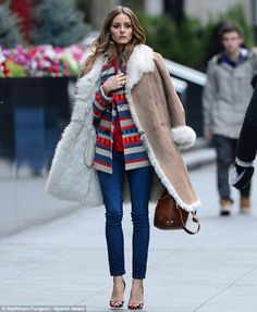Looks de invierno inspirados por las celebrities |