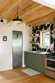 Mid Century Shelves, Awesome Bedrooms, Bedroom Fun, Barn Apartment, In Law Suite, Pool Houses, Tile Design, Shelter, Building A House