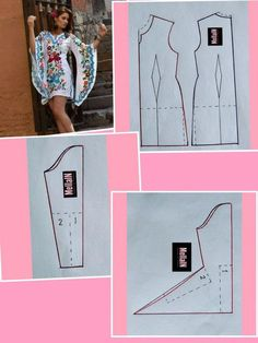 Sewing Darts - Step by Step Easy Tutorial Dress Sewing Patterns, Clothing Patterns, Knitting Patterns, Diy Clothing, Sewing Clothes, Fashion Sewing, Diy Fashion, Barbie Mode, Costura Fashion