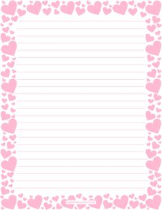Printable Daisy Stationery And Writing Paper Free Pdf Downloads