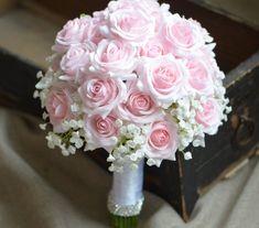 Pink Roses Bouquets Real Touch Pale Pink Roses Bridal Bouquets Silk Wedding Bouquets – Famous Last Words Rustic Bridal Bouquets, Silk Bridal Bouquet, Pink Rose Bouquet, Silk Wedding Bouquets, Bridesmaid Bouquet, Purple Bouquets, Boquet, Flower Bouquets, Rose Wedding