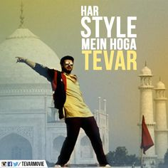 Arjun Kapoor in a still from Tevar. #Bollywood #Fashion #Style #Handsome