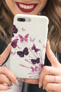 A splash of... butterflies 🦋🎨 Phone case for iPhone or Samsung. #butterflycase #phonecases #phonecovers Phone Covers, Butterflies, Iphone Cases, Samsung, Mobile Covers, Butterfly, Iphone Case, Phone Case, I Phone Cases