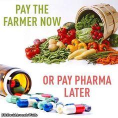 """Let food be thy medicine..."" #plantbased #health"