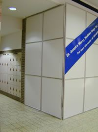 Our temporary walls systems are professional solutions, easy to set up, reusable wall partitions to save money (office, construction,…