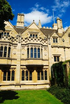 Magdalen College, Oxford - my dorm room was on the third floor of this building when I attended Magdalen during law school.