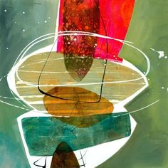 Jane Davies - yummy shapes and use of color