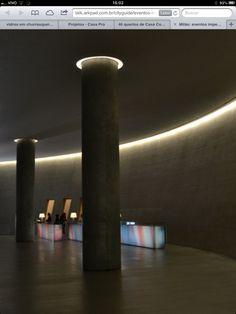 Iluminacao colunas