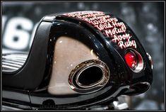 Cafe Racer Pasión — Honda CB450 1966 Cafe Racer by Krugger Motorcycles...