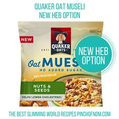 Quaker Museli - New Slimming World Shopping Essentials