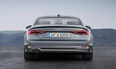 Купе Audi A5 Sportback 2017 / Ауди А5 Спортбэк 2017 – вид сзади