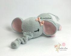 My Favorite Crochet Bear - Craft & Patterns Crochet Animal Amigurumi, Crochet Elephant, Amigurumi Patterns, Crochet Animals, Crochet Dolls, Crochet Baby, Free Crochet, Knit Crochet, Easy Crochet
