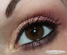 peach gold eye make up http://www.talasia.de/2013/03/19/alltagsmakeup-in-peach-und-rosegold/
