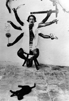 Salvador Dali  Be one. Specialization is often a type of death. When you have become a tool.