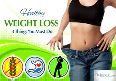 3 Things You Must do for Healthy Weight Loss