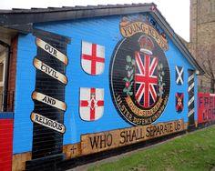 Belfast, political murals