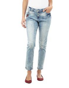 69c4f96a29aa Takko SALE   Damen Stone Washed Slim Fit 5-Pocket-Jeans   81516945430208