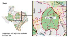 USGS Estimates 53 Trillion Cubic Feet of Natural Gas and Oil in Barnett Shale, TX   코리일보   CoreeILBO
