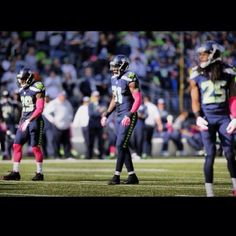 Thomas, Chancellor & Sherman of the LOB headed to the Pro Bowl - Unless they're headed to the Super Bowl...