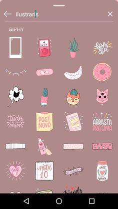 Instagram Emoji, Iphone Instagram, Creative Instagram Stories, Foto Instagram, Instagram And Snapchat, Instagram Story Ideas, Instagram Posts, Whatsapp Pink, Snapchat Stickers