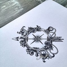 girly compass tattoos - Google Search